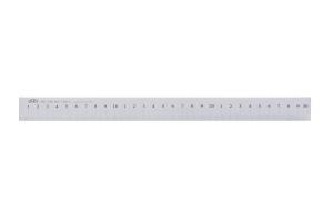 Měřítko ocelové ploché bez povrchové úpravy KINEX 300mm, DIN866/B