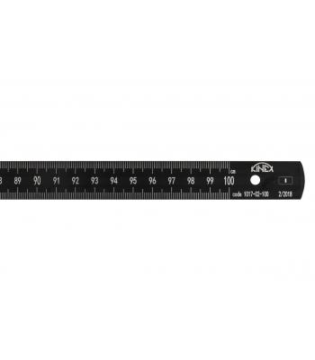 Měřítko ocelové ohebné BLACK COAT KINEX 2000mm, ECI