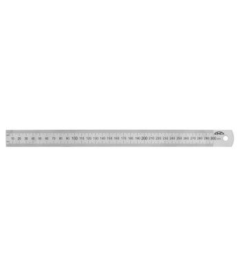 Měřítko ocelové tenké KINEX 1000mm