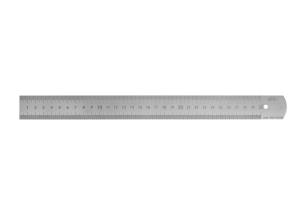 Měřítko ocelové tenké KINEX 300mm, tř. př. 1, EC