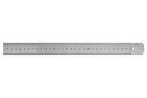 Měřítko ocelové tenké KINEX 300mm, tř. př. 1, EC, 0,5mm