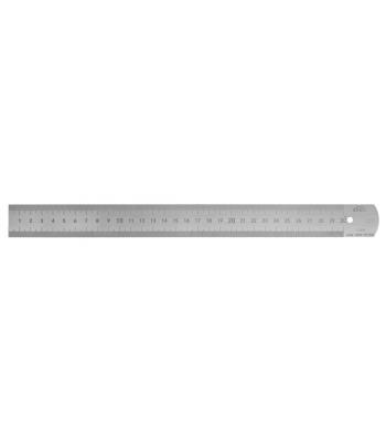 Měřítko ocelové tenké KINEX 1000mm, tř. př. 1, EC, 0,5 mm