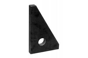 Granitový kontrolní úhelník KINEX 90°, tř.př. 00, 100x63x16 mm