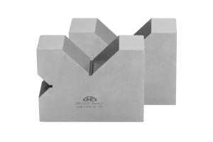 Kontrolní a rýsovací podložka s výřezy KINEX, pár, 2x90°, 100 mm, ČSN255532