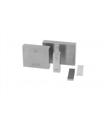 Základní (koncová) ocelová měrka KINEX 1,7mm, tř. př. 1, DIN861/1