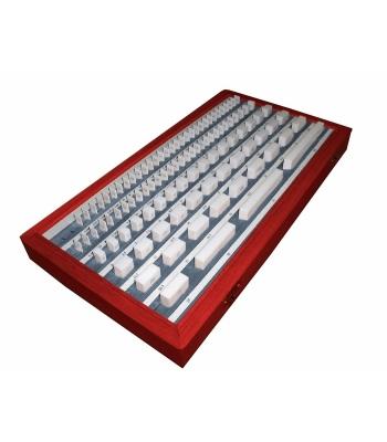 Základní Johansonovy koncové keramické měrky KINEX, 47ks, tř. přesnosti 1, DIN861