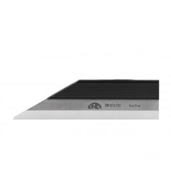 Pravítko nožové kalené NEREZ KINEX 75mm, DIN874-2/00