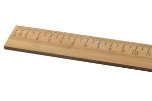 Měřítko dřevěné 500mm
