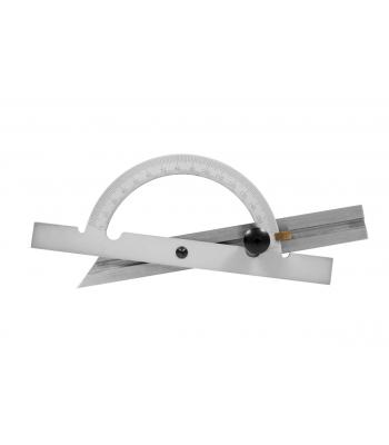 Úhloměr obloukový 10-170°, 150x55 mm