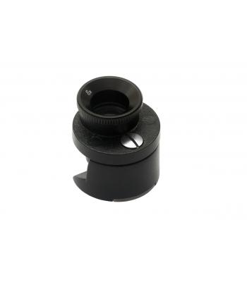 Brinellova lupa se dvěma čočkami 16 mm 15x, stupnice 15 mm