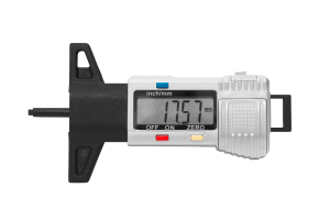 Digitální měrka výšky dezénu pneumatik KINEX 0-25mm