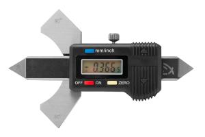 Měřítko koutových svarů KINEX digitální