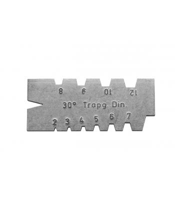 Šablona pro závity - Trapéz 2-12mm, 30° KINEX