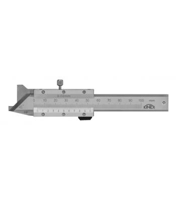 Posuvné měřítko na měření zkosení hran 45°