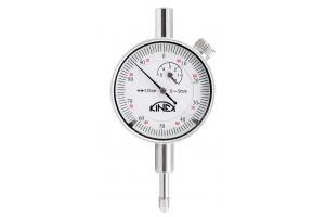 Úchylkoměr číselníkový KINEX 0-5mm/40mm/0,01mm, ISO46325, ČSN251811, ČSN251816