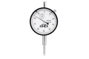 Úchylkoměr číselníkový KINEX 0-10mm/60mm/0,01mm, ISO46325, ČSN251811, ČSN251816