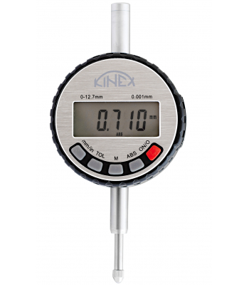 Úchylkoměr číselníkový digitální KINEX ABSOLUTE ZERO 0-12,7 mm/60 mm/0,001 mm, IP54