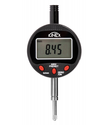 Úchylkoměr číselníkový digitální KINEX, IP54, 0-12,7 mm/0,01 mm