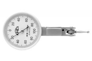 Úchylkoměr páčkový KINEX - horizontální (±0,8) 40/0,01mm