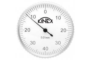 Úchylkoměr páčkový KINEX - vertikální (±0,8)/40mm