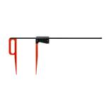 Lesnická průměrka KINEX Red&Black LINE 800 mm (dělení 5mm)