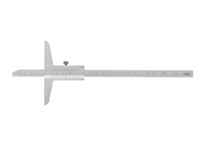 Hloubkoměr bez nosu KINEX 150 mm, 0,02mm, ČSN251280, DIN862