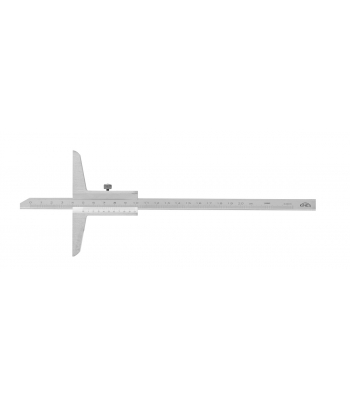 Hloubkoměr bez nosu KINEX 500 mm, 0,02mm, ČSN251280, DIN862