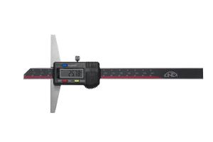 Hloubkoměr digitální bez nosu KINEX 150mm, 0,01, DIN862