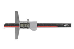 Hloubkoměr digitální s nosem KINEX 150mm/0,01, DIN862
