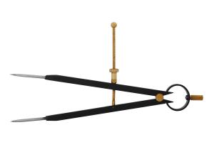 Kružidlo s pružinou KINEX BLACK COAT 6-200/150mm, ČSN255170