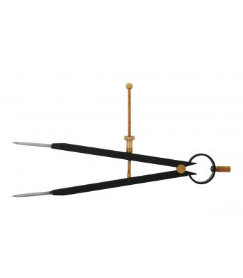 Kružidlo s pružinou KINEX BLACK COAT 6-200/150 mm, ČSN255170