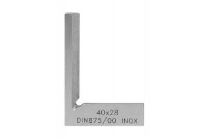 Úhelník nožový (vlasový) KINEX - přesný kalený 25x20mm, DIN875