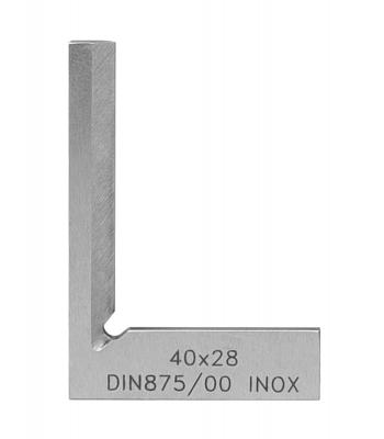 Úhelník nožový (vlasový) KINEX - přesný kalený 25x20 mm, DIN875