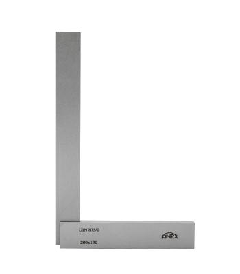 Úhelník příložný přesný dílenský KINEX 200x130 mm, tř.př. 0, DIN875