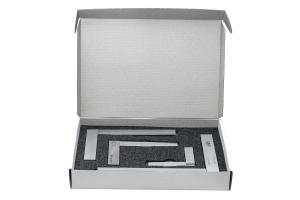 Sada úhelníků KINEX příložný přesný dílenský tř.př.1 (60, 100, 150mm), DIN875
