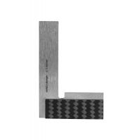 Ultralehký úhelník přesný, příložný ICONIC Labo (carbon/titan) 60x40 mm