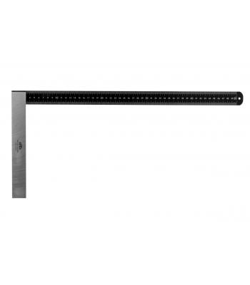 Úhelník tesařský s mm dělením KINEX BLACK COAT 1000x375 mm