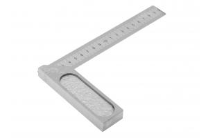 Úhelník s pružným ramenem a mm dělením - přesný KINEX 200x120 mm, ČSN255133