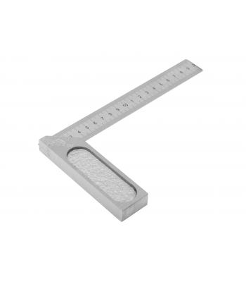 Úhelník s pružným ramenem a mm dělením - přesný KINEX 250x150 mm, ČSN255133