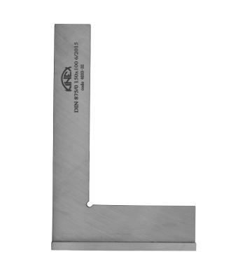Úhelník přesný příložný KINEX 75x50 mm, tř.př.0, DIN875
