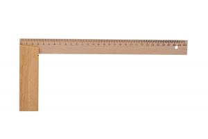 Úhelník dřevěný, stolařský KINEX 300x250 mm