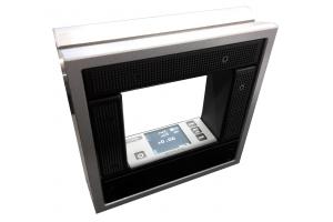 Vodováha strojní rámová s Bluetooth 150mm, DIN877, DIN2276-2