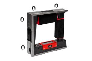 Vodováha strojní rámová s magnetem KINEX 150 mm, ČSN255739-1