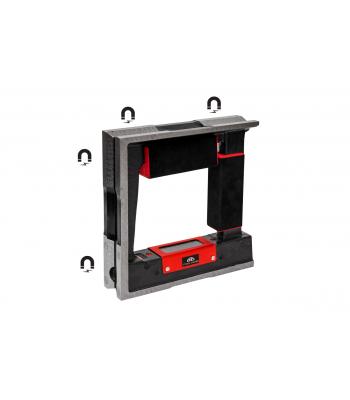 Vodováha strojní rámová s magnetem KINEX 250 mm, ČSN255739-1