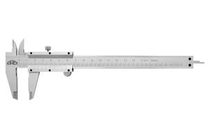 Posuvné měřítko KINEX 150mm, 0,02mm, aretace šroubkem, ČSN251238, DIN862
