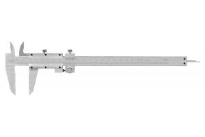 Posuvné měřítko KINEX 200 mm, 0,02 mm, jemné stavění, aretace šroubkem, ČSN251238, DIN862