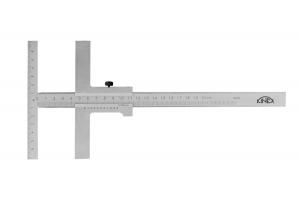 Posuvné měřítko na rýsování paralelní, typ T KINEX 160mm/120mm