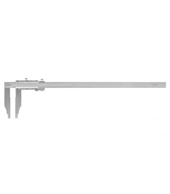 Posuvné měřítko s jemným stavěním KINEX 1000 mm, 150 mm, 0,02 mm, DIN862
