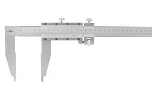 Posuvné měřítko KINEX 800mm, 0,05mm, 150mm, jemné stavění, šroubovací nonius ČSN251231, DIN862