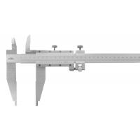 Posuvné měřítko KINEX 600 mm, 100 mm, 0,02 mm, s horními noži, ČSN251234, DIN862